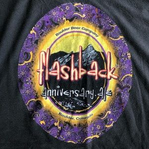 Boulder Beer Co 30th Anniversary Flashback T